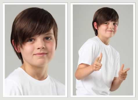corte de pelos para niños