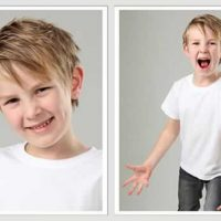 corte de pelo alocado para niños