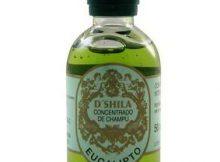 frasco shampoo de bergamota