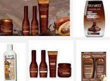 marcas de shampoos de chocolate