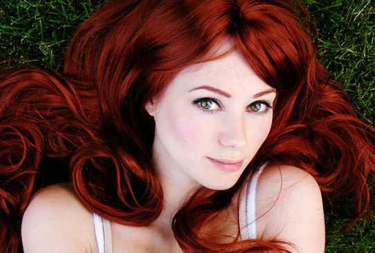 profesional bailarines cabello rojo