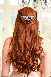 10 Peinados Para Novias Con Pelo Largo 2019 Blog De Peluqueria