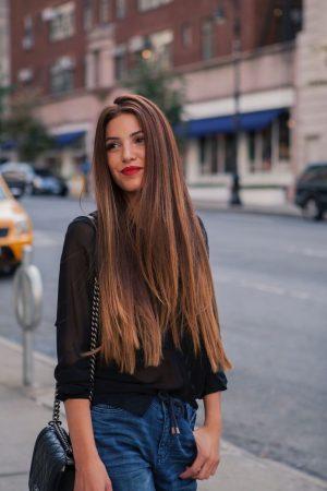 balayage en pelo oscuro