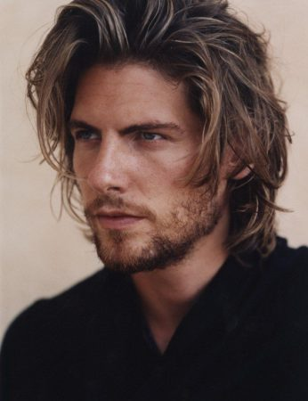 corte de pelo en capas para hombre