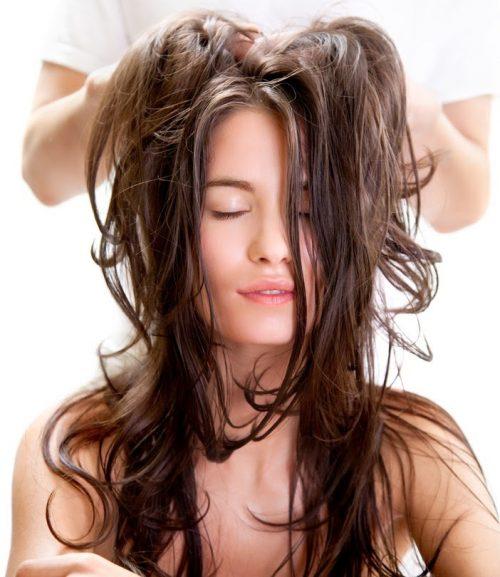 masajes al cuero cabelludo