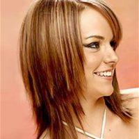 peinados cortes de pelo mujeres cara redonda 102