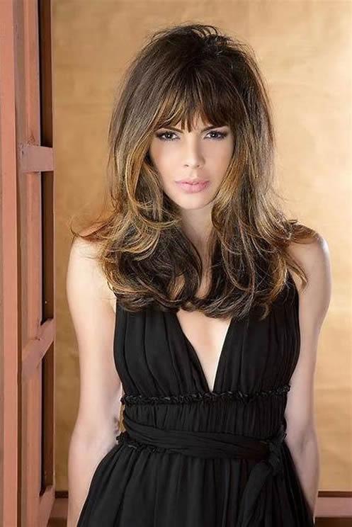 peinados cortes de pelo mujeres cara redonda 157
