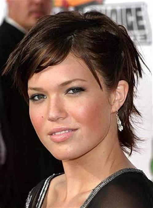 peinados cortes de pelo mujeres cara redonda 173