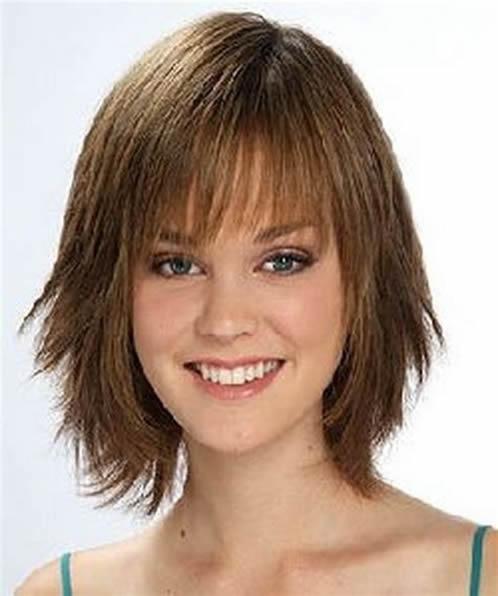 peinados cortes de pelo mujeres cara redonda 182