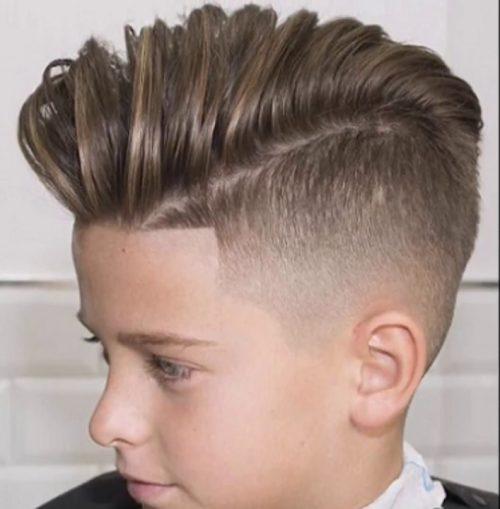 14 estilo rocabilly - Peinados Nios
