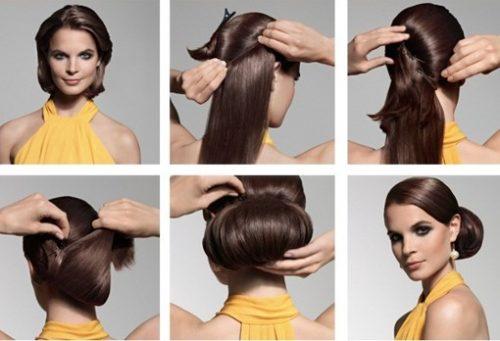Peinados de pelo corto con extensiones