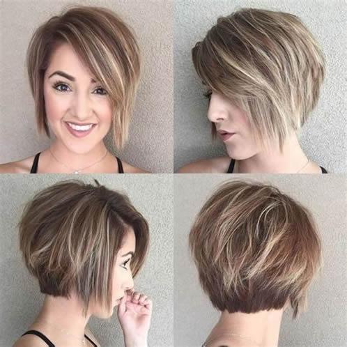Corte de pelo moderno mujer
