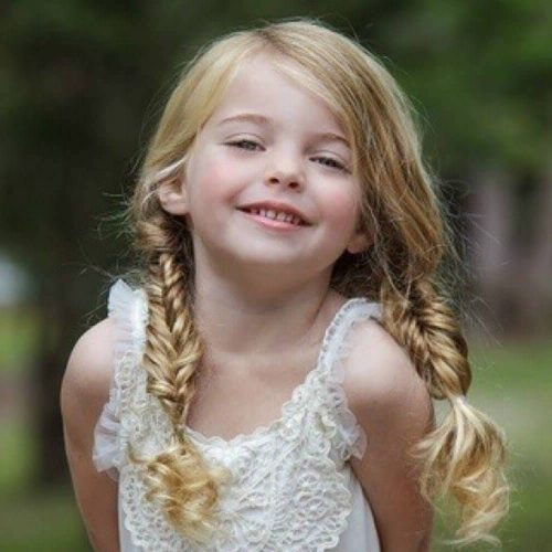 peinado informal para niñas