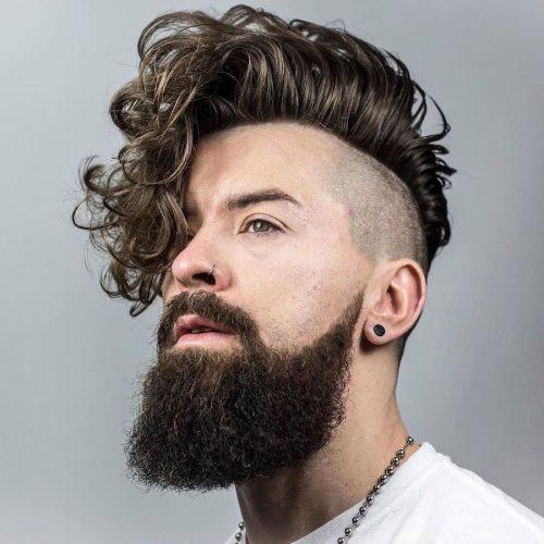 peinado hipster con rulos
