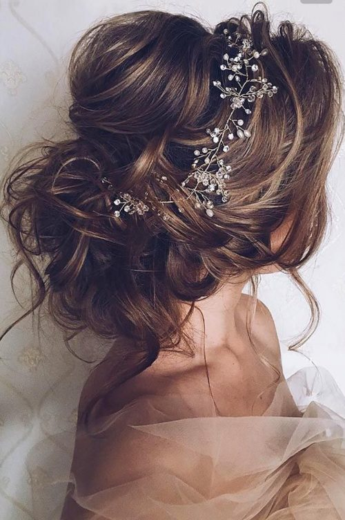 peinado para boda recogido