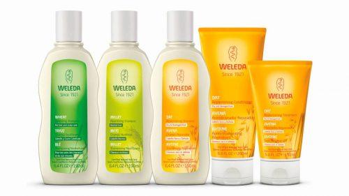 linea de shampoo weleda