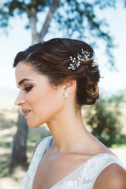 peinado clasico de bodas