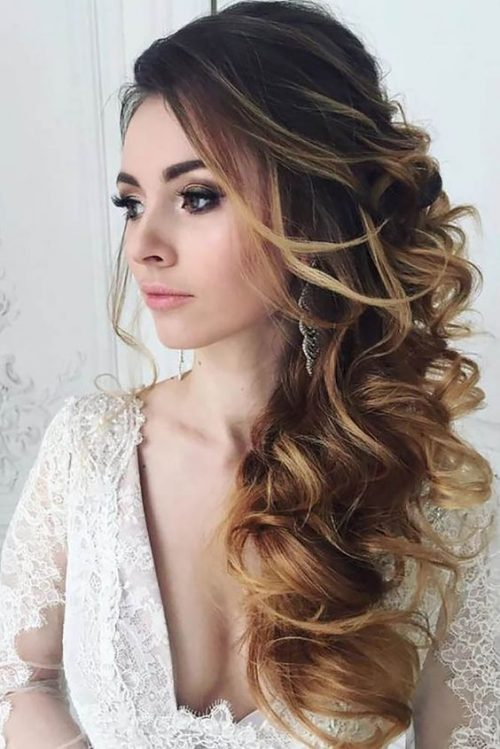 peinado diario para la boda
