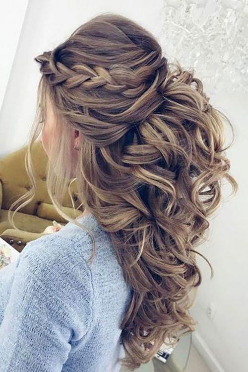 peinado diario para una boda