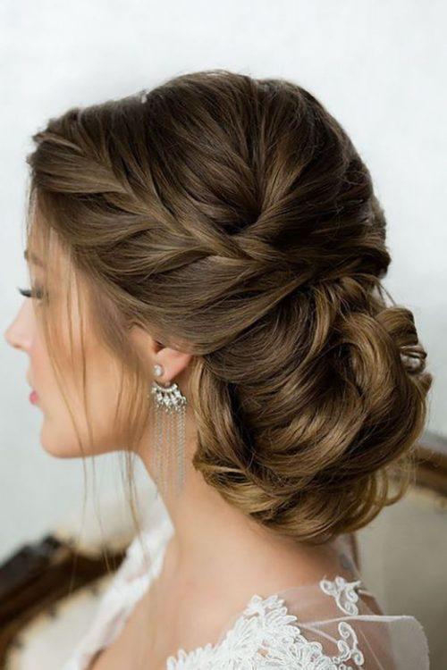 peinado largo para boda