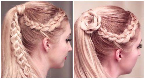 peinados con formas