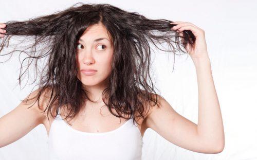grasitud en el cabello