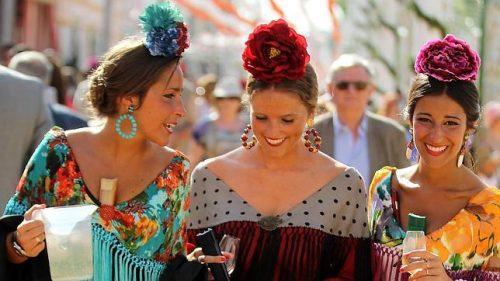 Peinados de flamenca 17