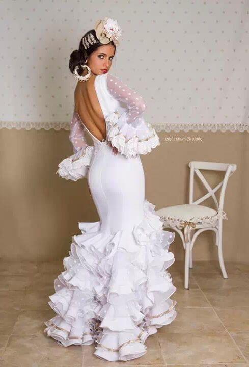 Lo más universal peinados de flamenca paso a paso Imagen De Consejos De Color De Pelo - Peinados de flamenca: 18 diseños que lucen geniales! 【2021 ...