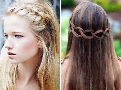 Peinados recogidos con pelo lacio