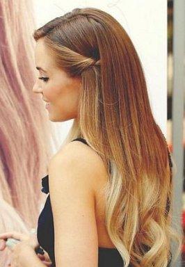 Peinados pelo liso 3