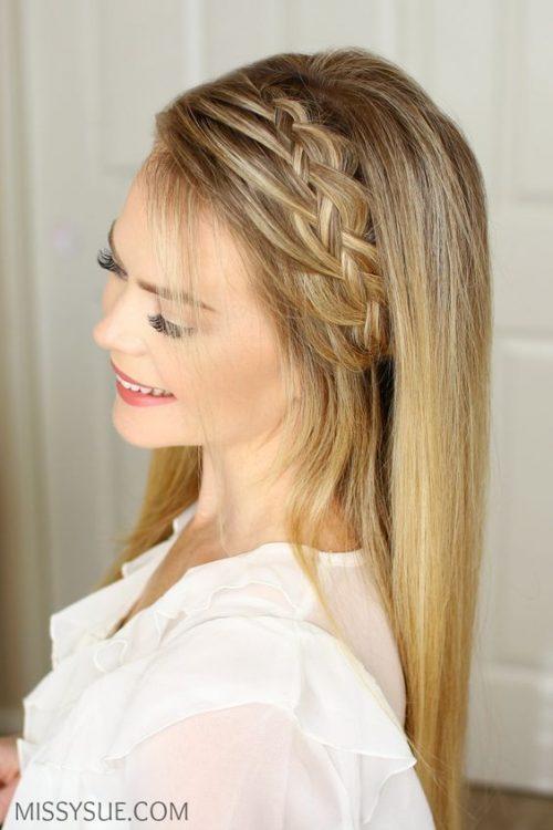Peinados sueltos 18 diseños que lucen súper bien 12