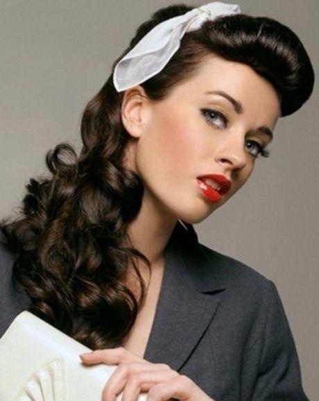 Peinados PIN UP con lazo