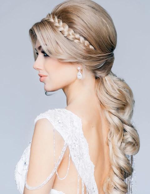 Peinados románticos elegantes