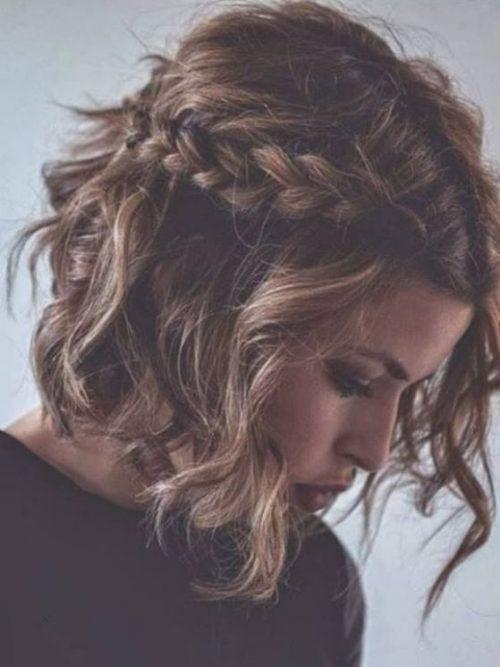 Peinados románticos ondulado
