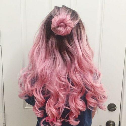 Diferentes tonos de rosa