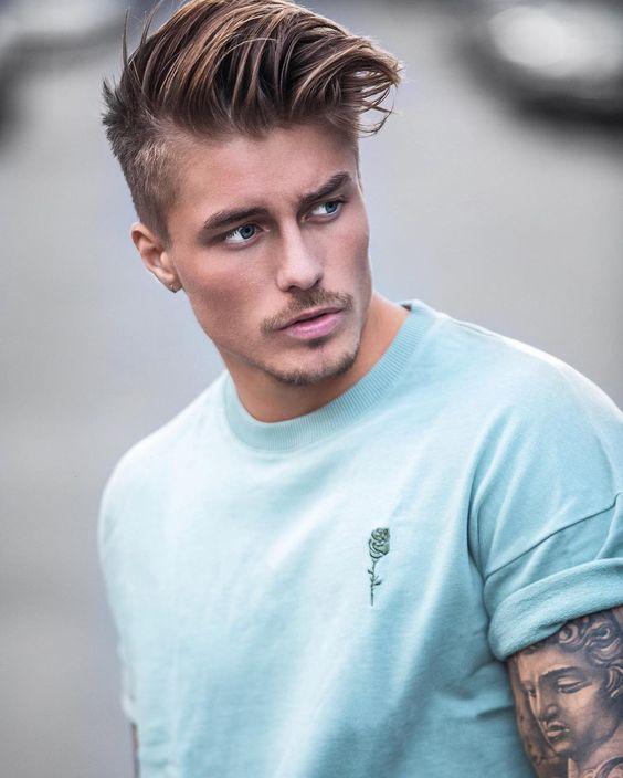 Peinados Con Tupé Para Hombre Ideas A La Moda Con Fotos