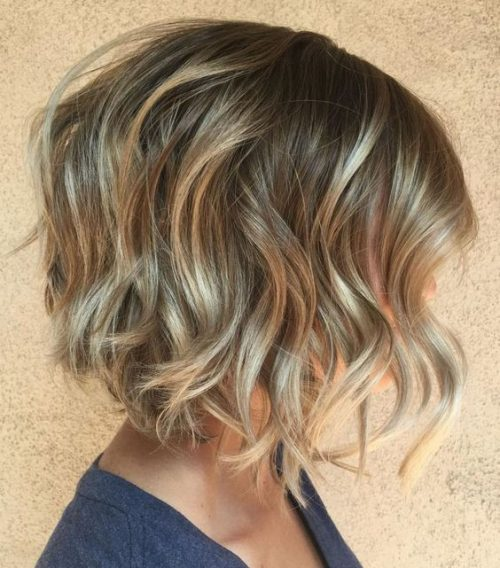 peinados con ondas cabello corto