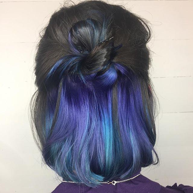 Balayage azul 7
