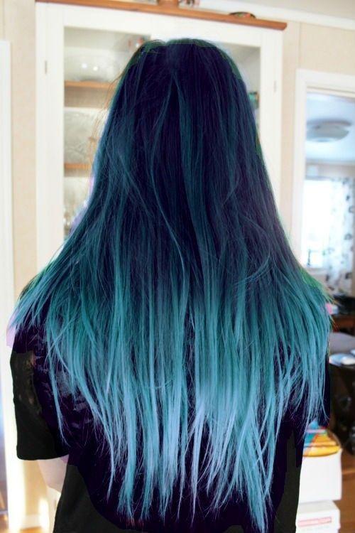 Balayage azul 9