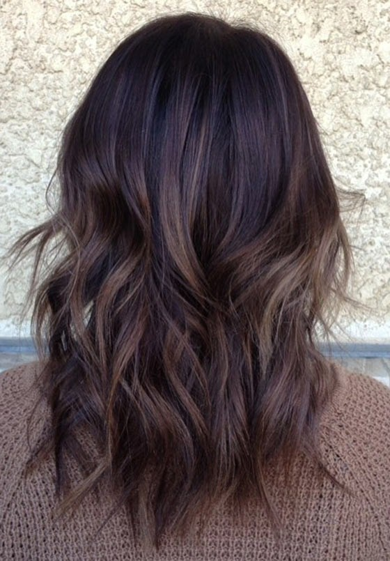 Balayage chocolate 1