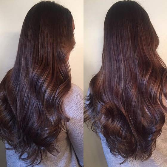 Balayage chocolate 11
