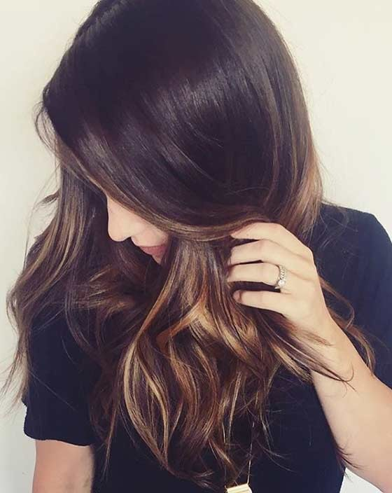 Balayage chocolate 12