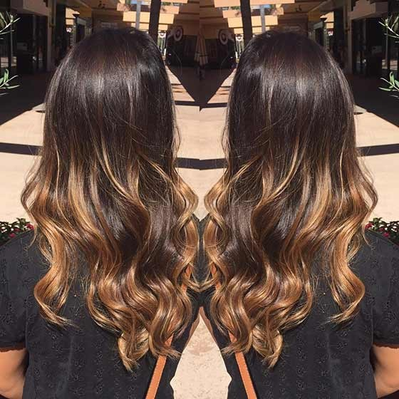 Balayage chocolate 2
