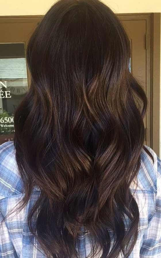Balayage chocolate 7