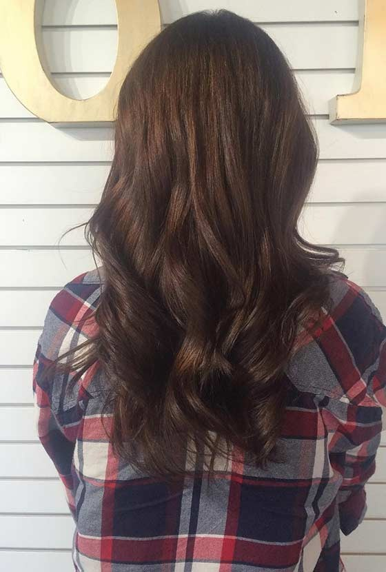 Balayage chocolate 9