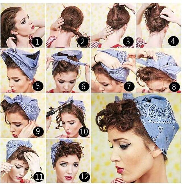 Peinados PIN UP 11