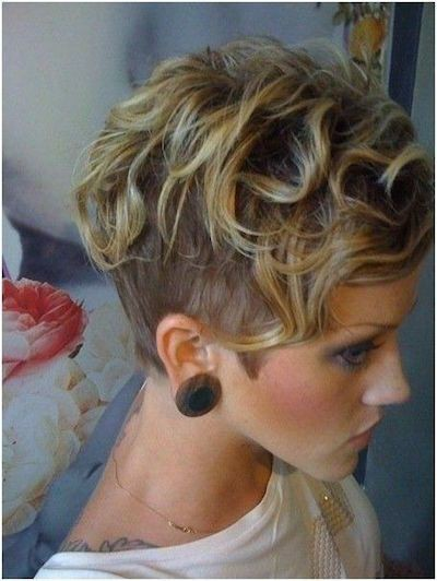 Peinados Pelo Corto Rizado 16 Cortes Que Lucen Geniales