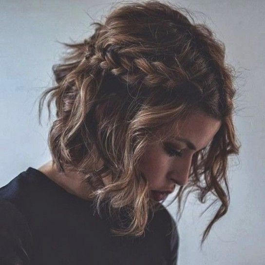 Peinados pelo corto rizado 9