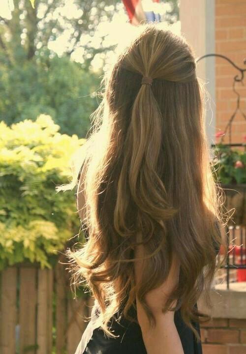 Peinados pelo suelto 15