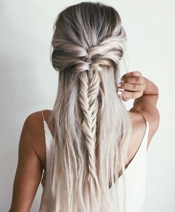 Peinados pelo suelto 20
